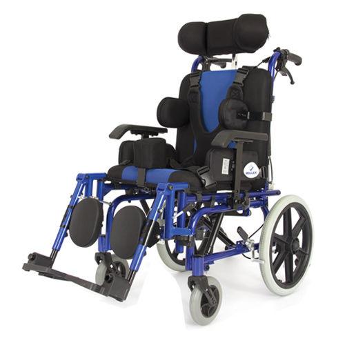 WOLLEX - WG-M958L 44CM Özellikli Yetişkin Tekerlekli Sandalye