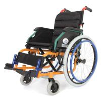 WOLLEX - W980 Çocuk Aluminyum Manuel Tekerlekli Sandalye
