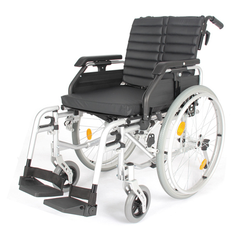 WOLLEX - WGM735 Aluminyum Manuel Tekerlekli Sandalye